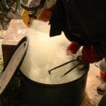 ceramica raku...la cottura ela riduzione (13)