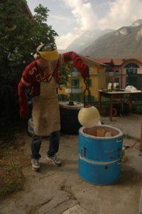 ceramica raku...la cottura ela riduzione
