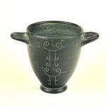 Riproduzione di olla etrusca