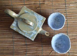 corsi di ceramica PercorsoArgilla servizio da tè in gres (3)